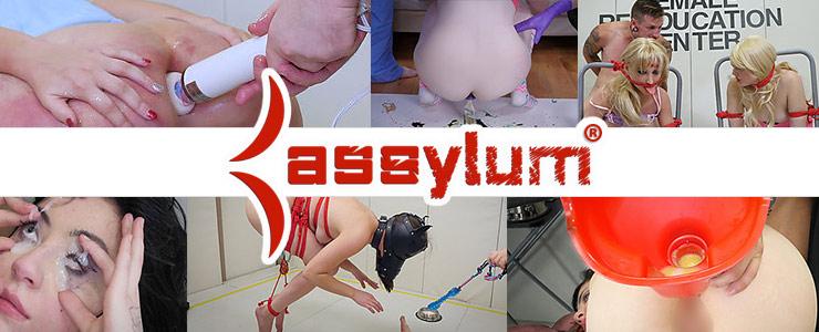 assylumはカラフルでポップなハードコアアナル専門のSM動画サイト